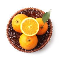 耕之语 秭归脐橙榨汁橙子甜橙手剥橙5斤装小果(63-65mm)新鲜橙子水果包邮 皮薄肉嫩,香甜多汁,基地直供!
