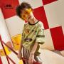 小虎宝儿男童短袖t恤2020夏装新款儿童纯棉半袖衫中大童洋气童装
