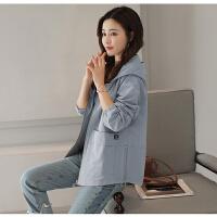 2018春季新款短外套女士韩版时尚显瘦小个子短款风衣早春百搭外套