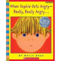 When Sophie Gets Angry-Really, Really Angry 英文原版儿童书 菲菲生气了 2
