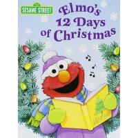 Elmo's 12 Days of Christmas (Sesame Street) 英文原版 芝麻街:阿莫的圣诞12