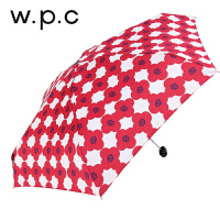 WPC超轻小迷你清新复古森女雨中花系防晒防紫外线彩胶晴雨太阳伞