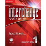 【预订】Interchange Level 1 Student's Book with Self-Study DVD-