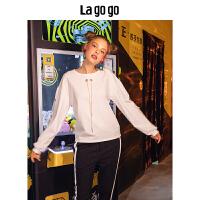 【5折价120】Lagogo/拉谷谷2018秋季新款简约OLT恤HCTT538A03