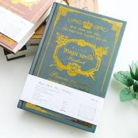 欧式记事本A5加厚复古硬面抄笔记本创意学生礼品横线日记本子文具