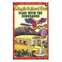 英文原版Magic School Bus Science Reader: Flies With The Dinosaur