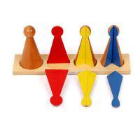 玩具 1-3岁 数学蒙特梭利教具 幼儿园儿童早教玩具分数小人