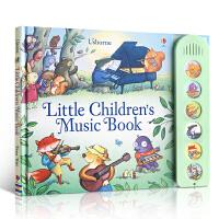 【全店300减100】发声书 英文原版 Little Children's Music Book 宝宝的森林音乐书 儿童