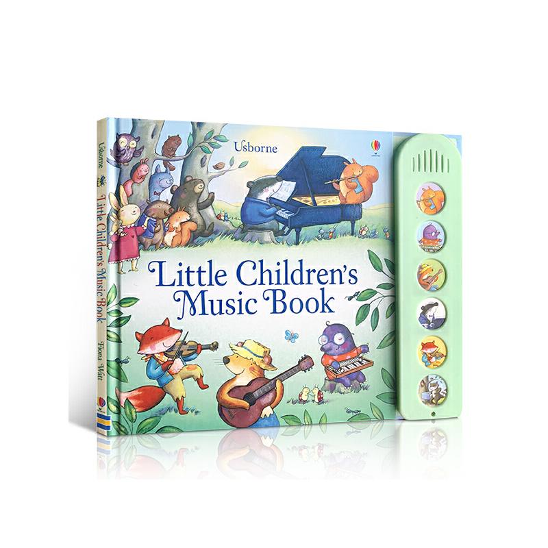 发声书 英文原版 Little Children's Music Book 宝宝的森林音乐书 儿童启蒙英语 激发宝宝对音乐的好感 亲子阅读睡前故事绘本读物