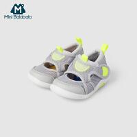【2件3.8折】迷你巴拉巴拉男女宝宝运动鞋2019夏装新款婴儿慢跑鞋透气防滑鞋子沙滩鞋