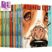 【中商原版】安德鲁的微观大冒险1-18 Andrew Lost 18册 微观探索科普 自然科学 桥梁章节小说 美国小学推