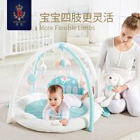 便携式婴儿游戏毯爬行垫婴儿健身架宝宝音乐游戏毯