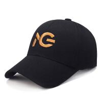 休闲男士帽子夏户外运动遮阳帽长檐太阳帽鸭舌帽跑步棒球帽