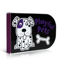 【全店300减100】英文原版 Black and White Playful Pets: Chunky Board B