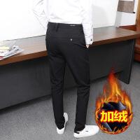 男士休闲裤韩版百搭青年上班弹力西装裤男生小西裤男修身小脚长裤