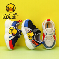 【3折价:89.7】B.Duck小黄鸭童鞋儿童运动鞋时尚2020春季男童新款跑步鞋女孩休闲鞋B1183953