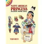 【预订】Native American Princess Sticker Paper Doll