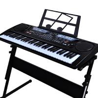女孩USB电子琴电源儿童电子琴61键带麦克风玩具电子琴男