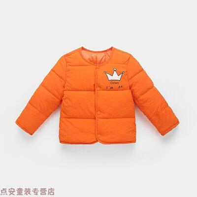 冬季新款儿童棉衣婴儿羽绒男宝宝冬装保暖内胆女小童短款棉袄外套秋冬新款