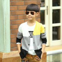 男童毛衣套头针织衫 中大童10秋冬装12-15岁双层儿童加厚韩版毛衣