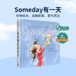 【发顺丰】英文原版 Someday 有一天 海洋般辽阔的母爱 生命历程 亲子阅读儿童纸板书