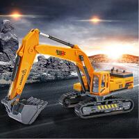 挖土机玩具汽车模型合金工程车玩具车儿童汽车男惯性