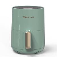 小熊(Bear)空气炸锅 家用微电脑调温定时无油烟电炸锅 1.5L容量薯条机烤箱大功率 QZG-A09E1