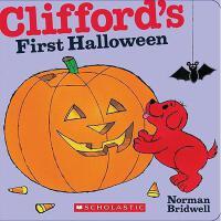 英文原版Clifford's First Halloween大红狗的个万圣节