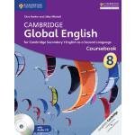 【预订】Cambridge Global English Stage 8 Coursebook with Audio