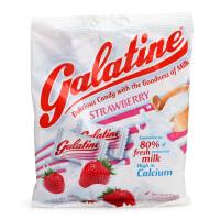 意大利Galatine佳乐锭 草莓味牛奶糖 水果糖 宝宝儿童零食 糖果