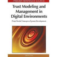 【预订】Trust Modeling and Management in Digital