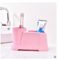 情侣儿童凯蒂猫牙杯子KT家用创意可爱卡通洗漱杯漱口杯牙刷架套装