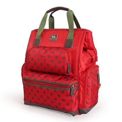 妈咪包多功能大容量双肩手提包外出时尚宝妈妈包袋母婴