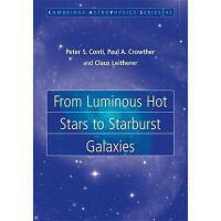 【预订】From Luminous Hot Stars to Starburst Galaxies