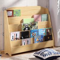 儿童书架儿童绘本架简易书报架书柜展示架