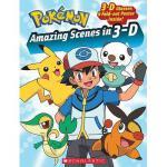 【预订】Pokemon: Amazing Scenes in 3-D