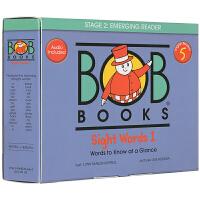 【五阶段】Bob Books Set 5 鲍勃阅读启蒙英文原版 sight words 常见字词