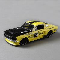 1967福特野马跑车模型仿真合金汽车模型1:24摆件送儿童男友礼品