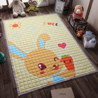 全棉加厚宝宝爬行垫儿童爬爬垫折叠地垫防滑机洗家用卧室客厅 150*200cm