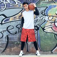 羽毛球篮球骑行运动弹力护臂/护膝加长护肘男透气防滑健身护臂护具