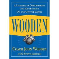 【预订】Wooden: A Lifetime of Observations and Reflections Y978