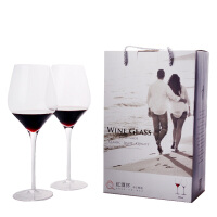 汉馨堂 红酒杯 高脚杯套装 无铅水晶玻璃红酒杯礼盒 人工吹制高档礼品