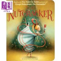 【中商原版】胡桃夹子 The Nutcracker 儿童文学 亲子绘本 现代芭蕾舞 纽约芭蕾团 8~12岁 板书 英文