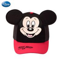 迪士尼开园款儿童帽子男童遮阳帽 女童鸭舌帽可爱米奇米妮沙滩帽