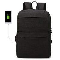 轻骑者 带USB接口双肩包男女通用休闲大容量潮流背包QQZ-608