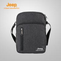 【满100减20/满279减100】Jeep/吉普 18春夏新品户外登山休闲运动单肩包旅行挎包J823178210