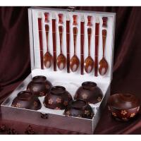 红木筷子 创意碗筷套装 婚庆实用 结婚礼品摆件 新婚礼物
