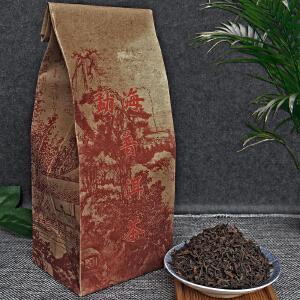 【4袋】2006年云南勐海(宫廷)普洱散茶熟茶(纯干仓老茶)250g/袋