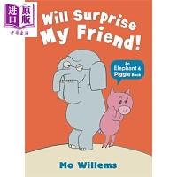【中商原版】小猪小象系列:我会给我的朋友惊喜 Elephant