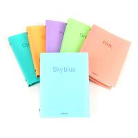 道林活页本 糖果色简约办公记事本学生用品文具纸质笔记本子B5/A5可选择